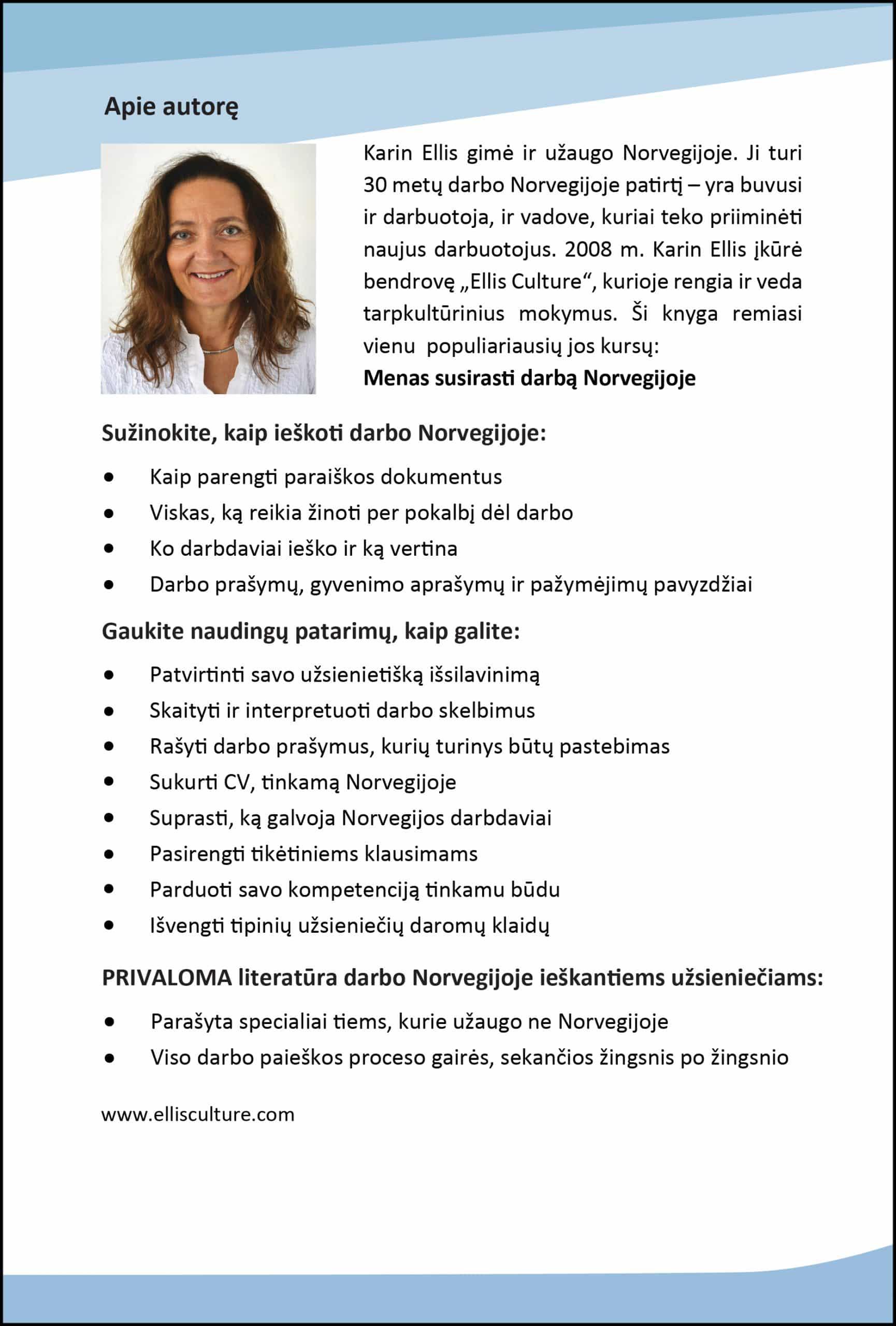 susirasti darbą Norvegijoje
